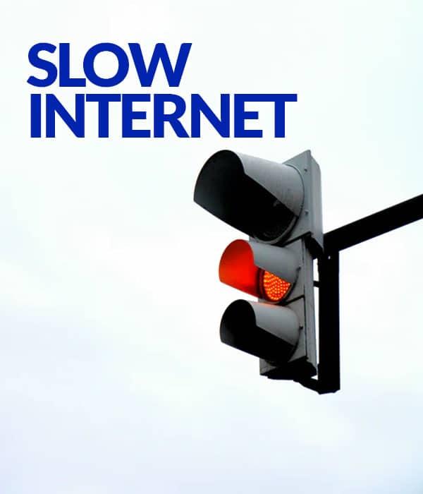 Challenge: Slow Internet