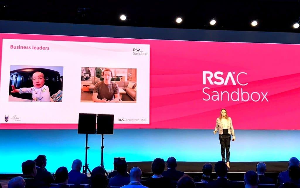 Alyssa Miller at RSA